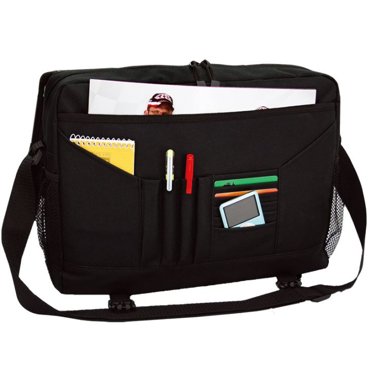 Convenient Computer Sling Bag With Organiser